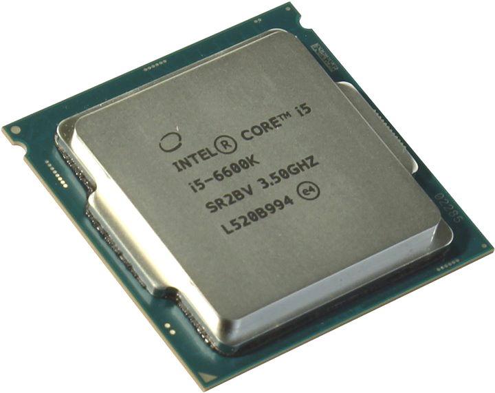 Процессор Intel Core i5-6600K Skylake (3500MHz, LGA1151, L3 6144Kb), OEM