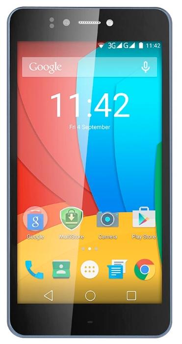 Смартфон Prestigio Muze D3 PSP3530 DUO черный - (; GSM 900/1800/1900, 3G; SIM-карт 2; MediaTek MT6582M, 1300 МГц; RAM 1 Гб; ROM 8 Гб; ; 13 млн пикс., светодиодная вспышка; есть, 5 млн пикс.)