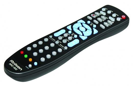 Rolsen RRC-300 - (ИК; 8 - 10 м; для 6 устройств • Способ настройки : сканирование, ввод кода)