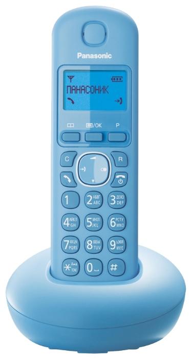 Радиотелефон DECT Panasonic KX-TGB210RUB Blue KX-TGB210RUF