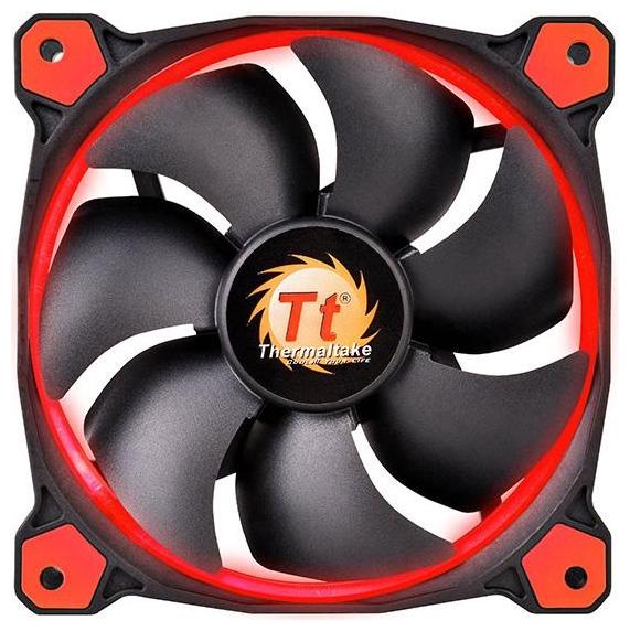 Вентилятор корпусной Thermaltake Riing 12 LED Red CL-F038-PL12RE-A