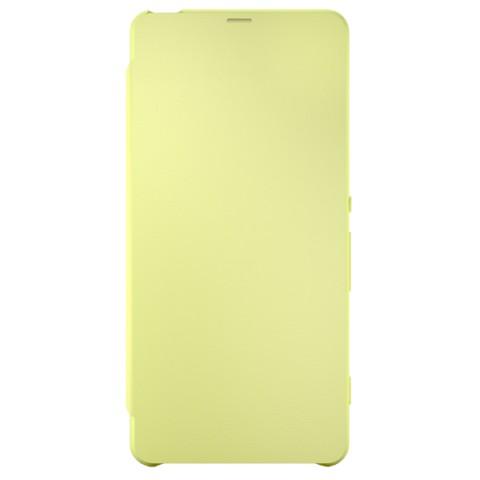 Чехол Sony Flip Cover для Xperia XA Ultra LimeGold