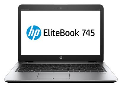 HP EliteBook 745 G3 (T4H58EA) - (AMD A10 Pro 8700B 1800 МГц. Экран 14 дюймов, 1366x768, широкоформатный. ОЗУ 4 Гб DDR3L 1600 МГц. Накопители HDD 500 Гб; DVD нет. GPU AMD Radeon R6. ОС)