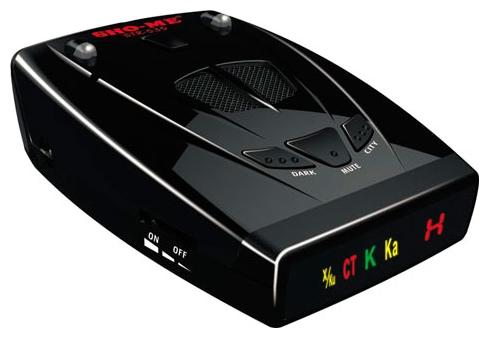 Sho-Me STR-535 - (Ultra-K, Ultra-X, Instant-On, режим Город: есть, количество уровней - 2, режим Трасса: есть, отображение информации: светодиодный дисплей)