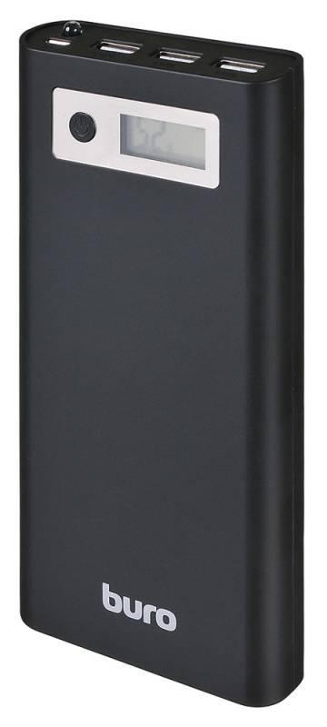 Аккумуляторная батарея Buro RA-16000-3U-LCD (16000 mAh) black RA-16000-3U-LCD-BK