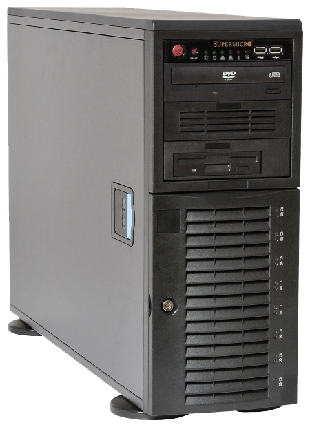 Корпус для компьютера Supermicro CSE-743TQ-1200B-SQ