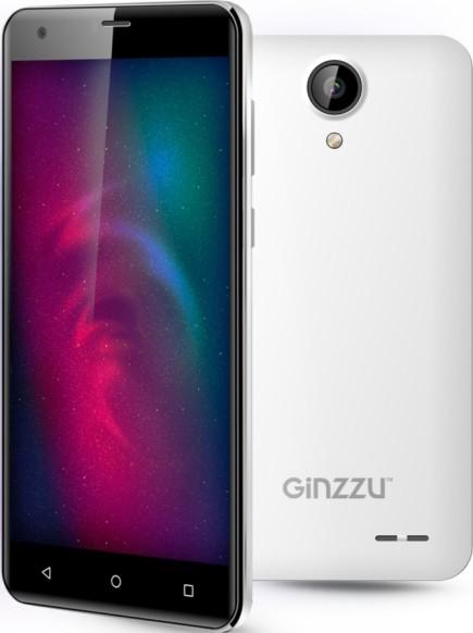 Ginzzu S5510 16Gb white - (; GSM 900/1800/1900, 3G, 4G LTE; SIM-карт 2 (обычная+micro SIM); MediaTek MT6735P, 1000 МГц; RAM 2 Гб; ROM 16 Гб; 2700 мАч; 13 млн пикс., светодиодная вспышка; есть, 5 млн пикс.)