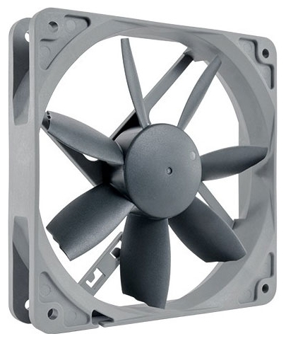 Noctua NF-S12B redux-1200 PWM 120мм, 400-1200 rpm - 120x120x25 мм; вентиляторов 1; 400 - 1200 об/мин; 4-pin PWM; 18.1 дБ; подсветка