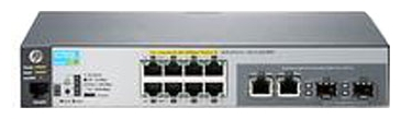 HP 2530-8-PoE+ (J9780A) - коммутатор (switch); 8 x Ethernet 10/100 Мбит/сек; пропускная способность 5.6 Гбит/сек; таблица MAC-адресов