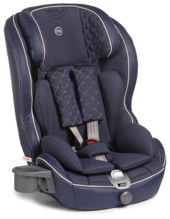 Автокресло группы 1-2-3 (9-36 кг) Happy Baby Mustang Isofix, синее