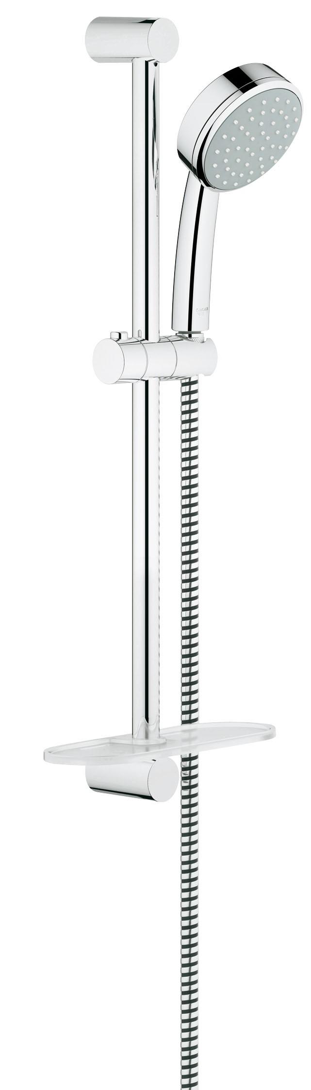 Grohe 26083001 Tempesta Cosmopolitan (ручной душ, штанга 600 мм, шланг 1750 мм), хром