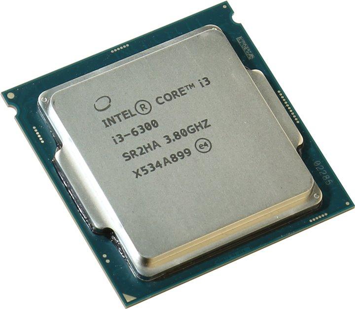 Процессор Intel Core i3-6300 Skylake (3800MHz, LGA1151, L3 4096Kb), OEM