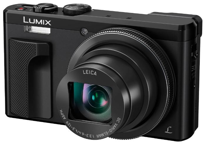 Panasonic Lumix DMC-ZS60 black - (19 млн, оптический zoom: 30x, 3840x2160, 10 кадр./сек, 1040000 точек, 3 дюйма)