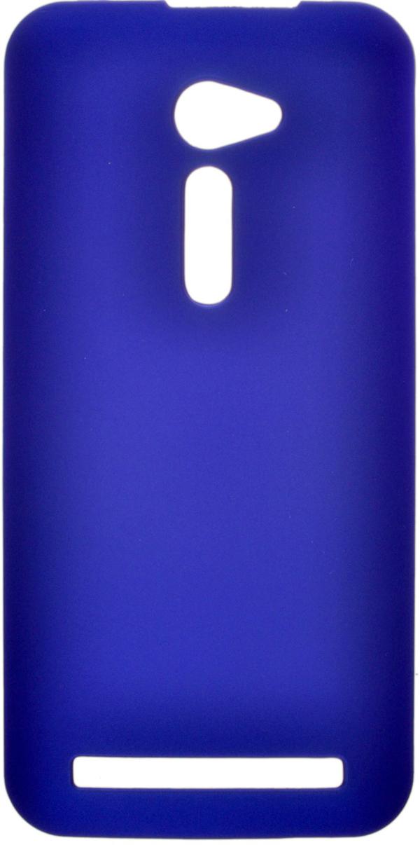 Накладка SkinBox для Asus ZenFone 2 (ZE500CL) Blue + защитная пленка