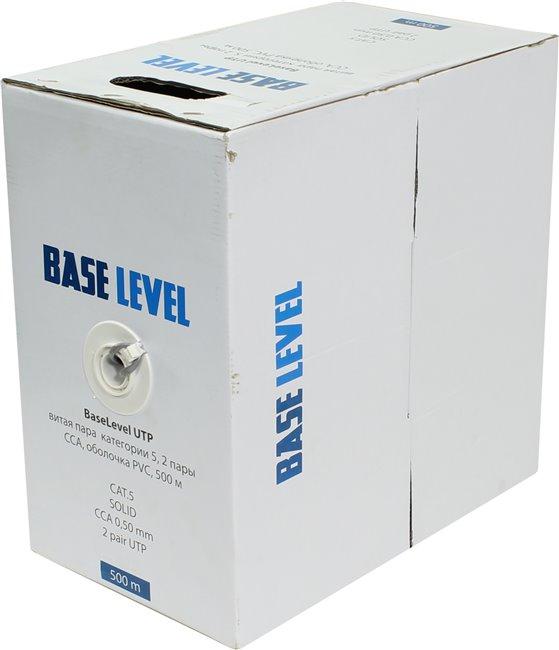 BaseLevel UTP (BL-UTP02-5-500,ССA PVC)