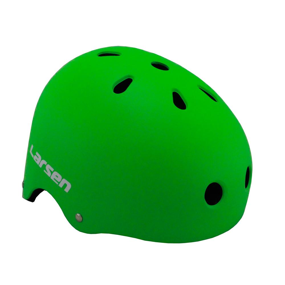 Шлем роликовый Larsen Special (H4) салатовый (L)