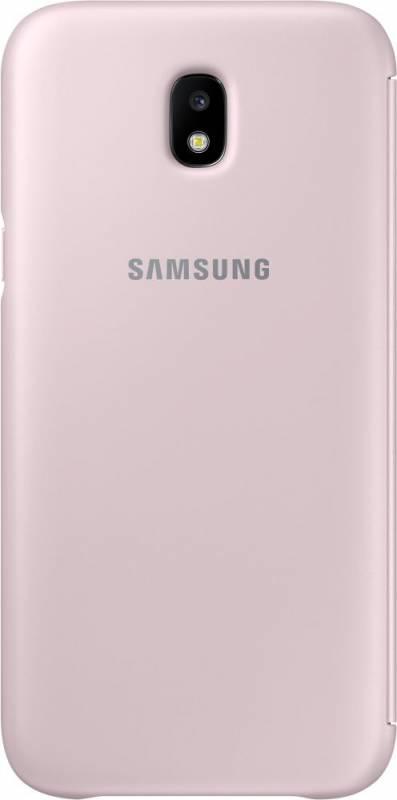 Чехол Samsung для Galaxy J5 (2017) Wallet Cover pink