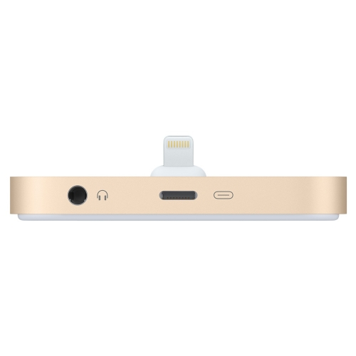 Apple Phone Lightning Dock, gold
