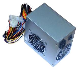 LinkWorld 350W LW2-350W - 350 Вт, 2 вентилятора (80 мм + 80 мм), линия +12В(1) - 16 A • Molex: 4 / SATA: 2 / CPU 4pin: 1 / Floppy: