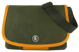 "����������: ����� Crumpler Boomer M 13.3"" Black Olive-Golden Orange - �����, 13.3"", ���������, ����� / ���������� / ���������, 380 x 295 x 77"