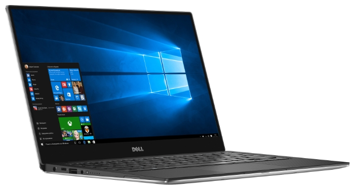 Dell XPS 13 (9350-5483), Silver - (Intel Core i7 6560U 2200 МГц. Экран 13.3 дюймов, 3200x1800, широкоформатный TFT IPS. ОЗУ 8 Гб LPDDR3 1866 МГц. Накопители SSD 256 Гб; DVD нет. GPU Intel Iris Graphics 540. ОС Win 10 Home)
