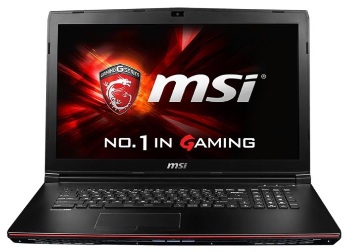 MSI GP72 2QE Leopard Pro (9S7-179323-201), Black - (Core i5 4210H 2900 МГц. Экран 17.3 дюймов, 1920x1080, широкоформатный. ОЗУ 8 Гб DDR3L 1600 МГц. Накопители HDD 1000 Гб; DVD-RW, внутренний. GPU NVIDIA GeForce GTX 950M. ОС)
