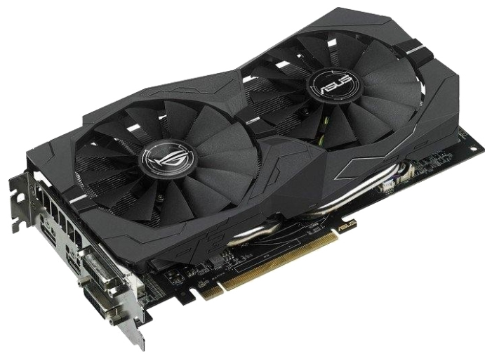 Видеокарта ASUS Radeon RX 470 8192Mb Strix OC Gaming STRIX-RX470-O8G-GAMING