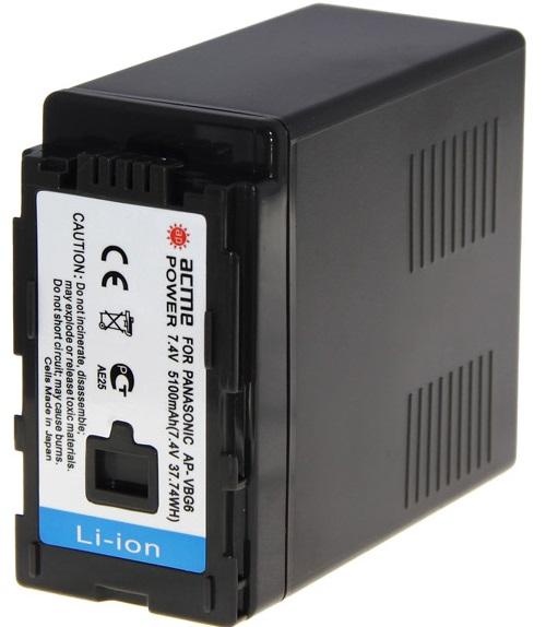 Аккумуляторная батарея AcmePower для видеокамеры AP-VBG-6