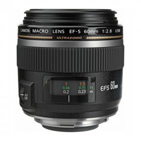 Фотообъектив Canon EF-S 60mm f/2.8 Macro USM (0284B007)