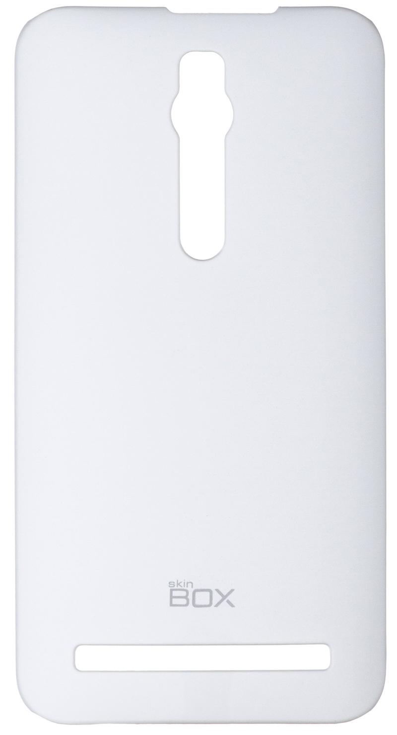Накладка SkinBox для Asus ZenFone 2 (ZE551ML/ZE550ML) White + защитная пленка
