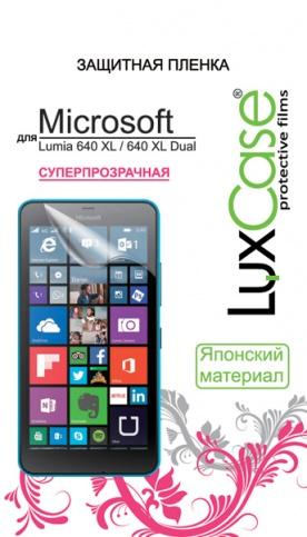 Защитная пленка LuxCase для Microsoft Lumia 640 XL / 640 XL Dual