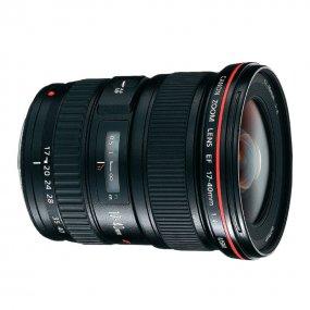 Canon EF 17-40 mm f/4 L USM (8806A007) - широкоугольный Zoom; ФР 17 - 40 мм; ZOOM 2.4x; F4 • Автофокус есть.