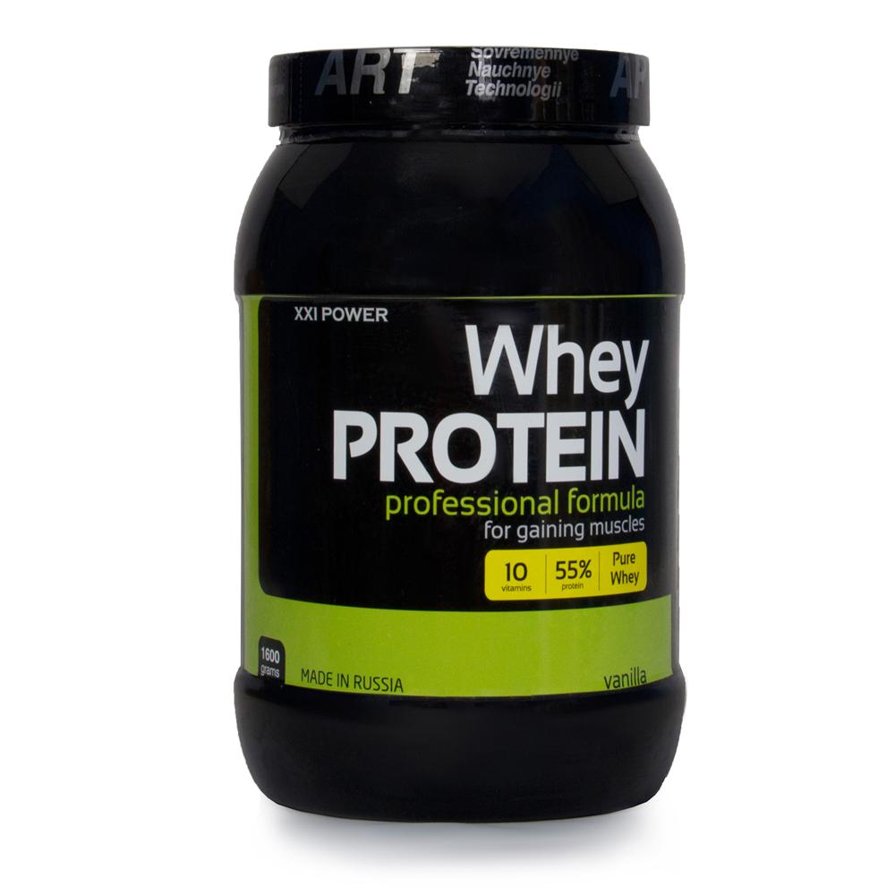 Смесь высокобелковая Ironman XXL Сыворочный протеин 1,6кг ваниль
