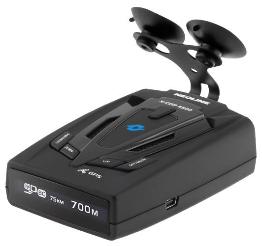 Neoline X-COP 4500 - (Ultra-K, Ultra-X, режим Город: есть, режим Трасса: есть, отображение информации: символьный дисплей)