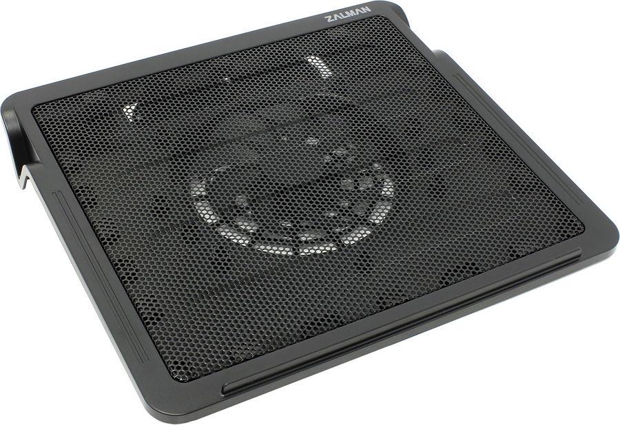 Подставка Zalman ZM-NC2, теплоотводящая, USB, Black