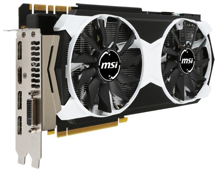 ���������� MSI GeForce GTX 980 1178Mhz PCI-E 3.0 4096Mb 7010Mhz 256 bit DVI HDMI HDCP GTX 980 4GD5T OC