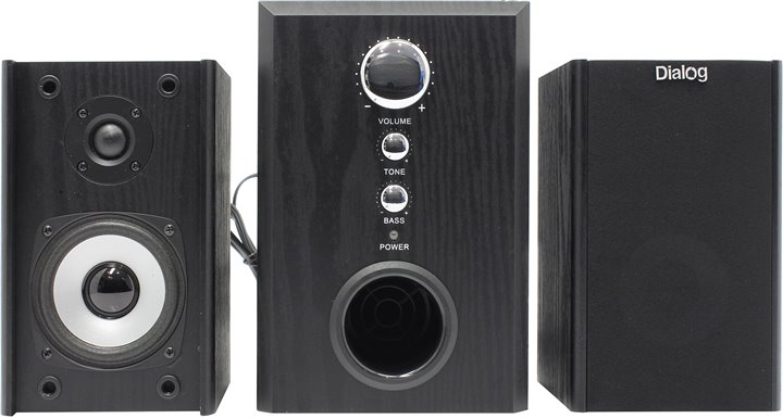 Акустическая система Dialog W-3000 black W-3000