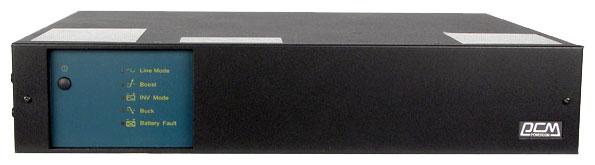 Powercom KIN-2200AP - интерактивный; 2200 ВА / 1320 Вт; вход 165 - 275 В; розеток 6 (из них с питанием от батарей - 4); RS-232 KRM-2200-6G0-