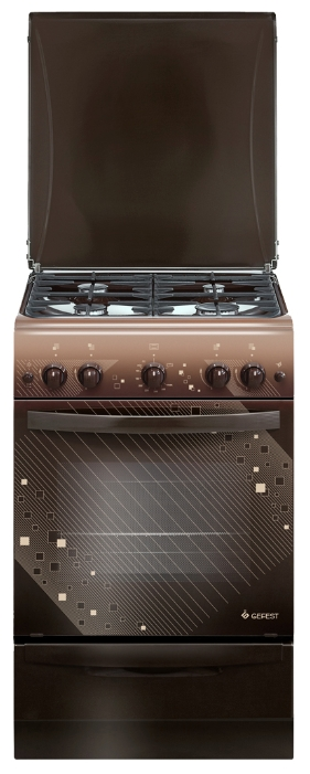 Плита газовая Gefest 5100-02 0010 коричневая