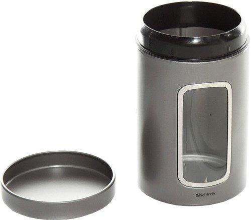 Контейнер Brabantia 288425 dark silver