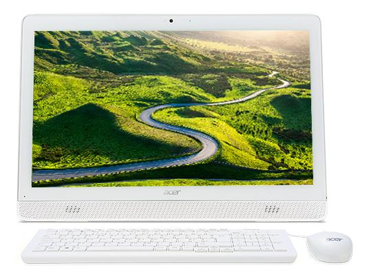 "Acer Aspire Z1-612 (DQ.B2QER.01), White - (Intel Pentium N3700 / 1.60 ГГц; 4 Гб; 1000 Гб; ODD - DVD-RW • Экран 19.5"" 1600x900; Intel HD Graphics • LAN 10-1000 Мбит/с; Wi-Fi 802.11 b/g/n; Bluetooth 4.0 • MS Windows 10 Home (64-bit), версия для одного языка)"