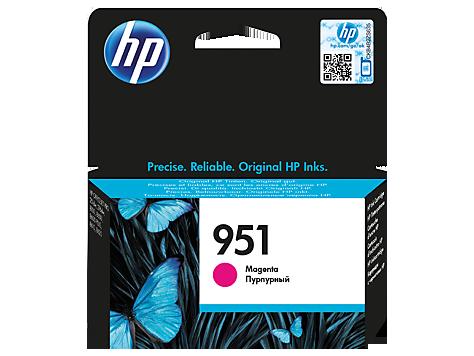 Картридж струйный HP 951, пурпурный (CN051AE)