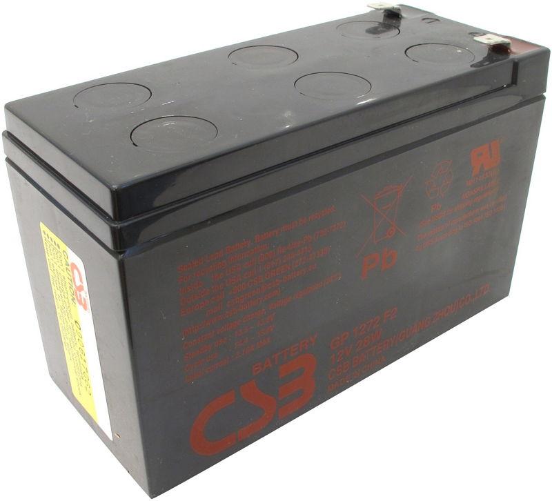 Аккумуляторная батарея CSB GP 1272 F2 (12 В, 7.2 Ач)