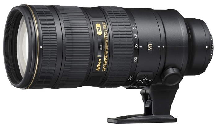 Фотообъектив Nikon 70-200mm f/2.8G ED AF-S VR II Zoom-Nikkor JAA807DA