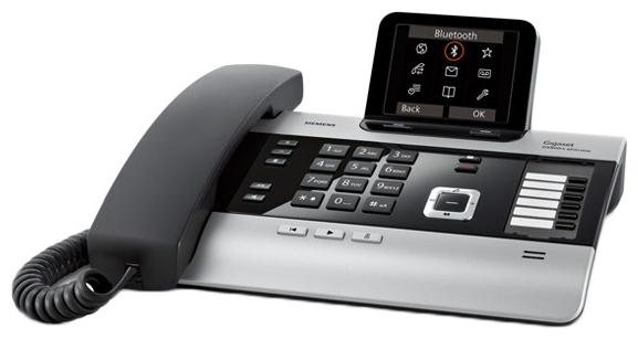 VoIP-телефон Gigaset DX800 A, WAN, LAN, FXS, FXO, 4 линии, есть определитель номера