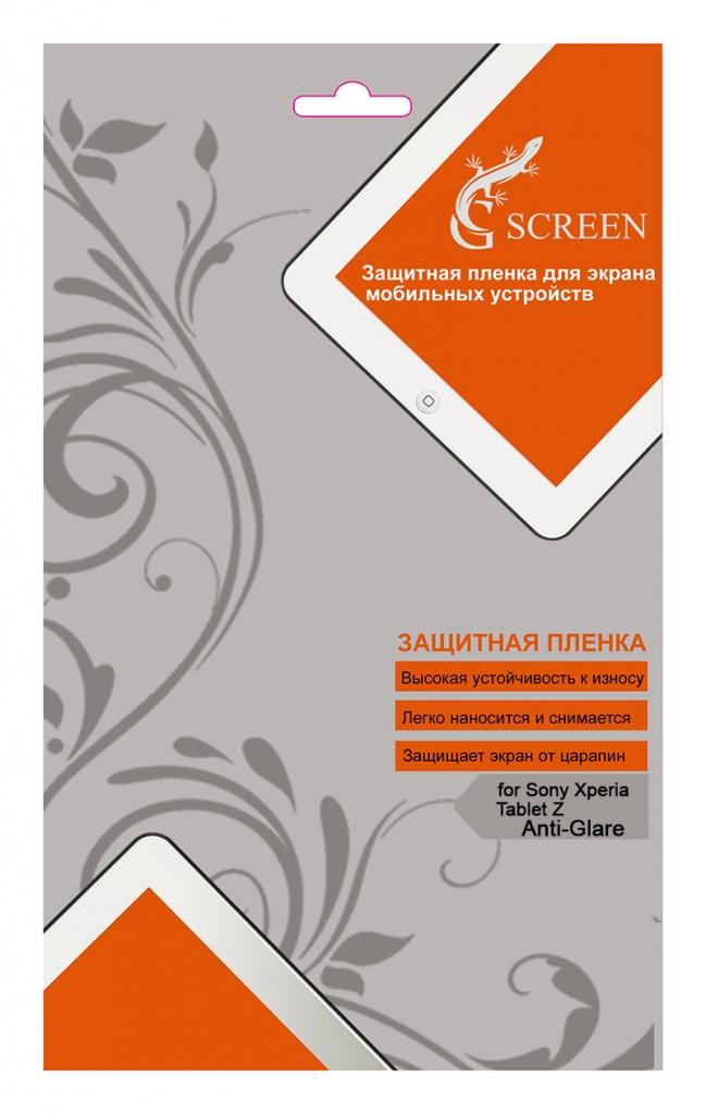 """G-Screen для Sony Xperia Z tablet matt - матовая; 10.1""""; Защитная пленка надежно защитит экран вашего устройства от отпечатков, попадания"""
