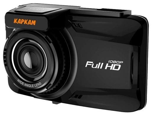 """Каркам M2 - (с камерой, с экраном; 1920x1080 при 30 к/с; каналов видео 1; CMOS 1/2.7""""; 140° (по диагонали); ночной режим есть; microSD (microSDHC) до 128 Гб; Экран 2.7""""; GPS-модуль есть)"""
