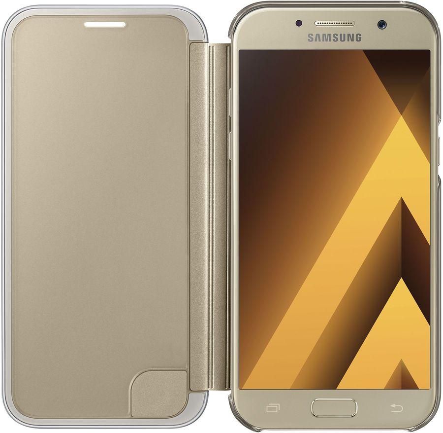 Samsung для Samsung Galaxy A5 (2017) Clear View Cover, golden