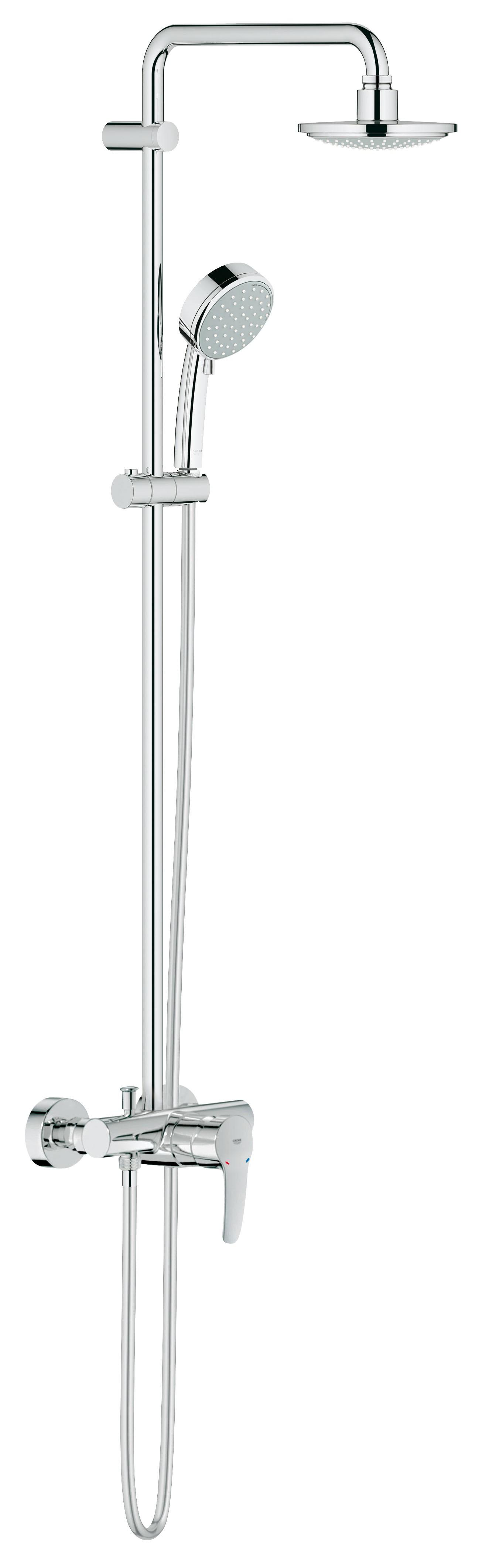Grohe 26224000 Tempesta Cosmopolitan 160 с верхним и ручным душем, хром