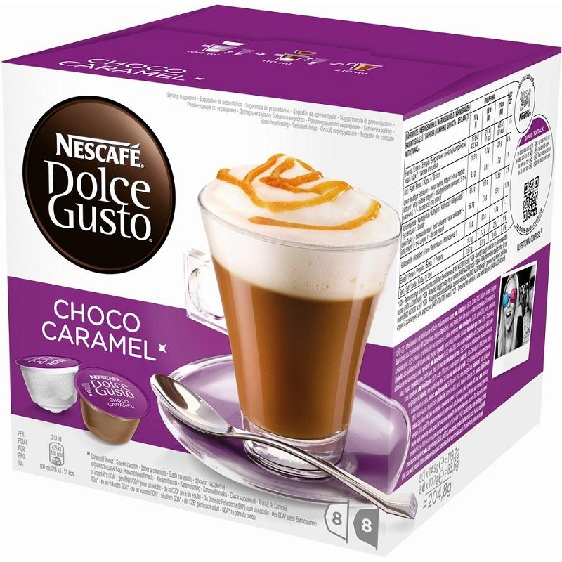 Кофе Nescafe Dolce Gusto Chococino Caramel
